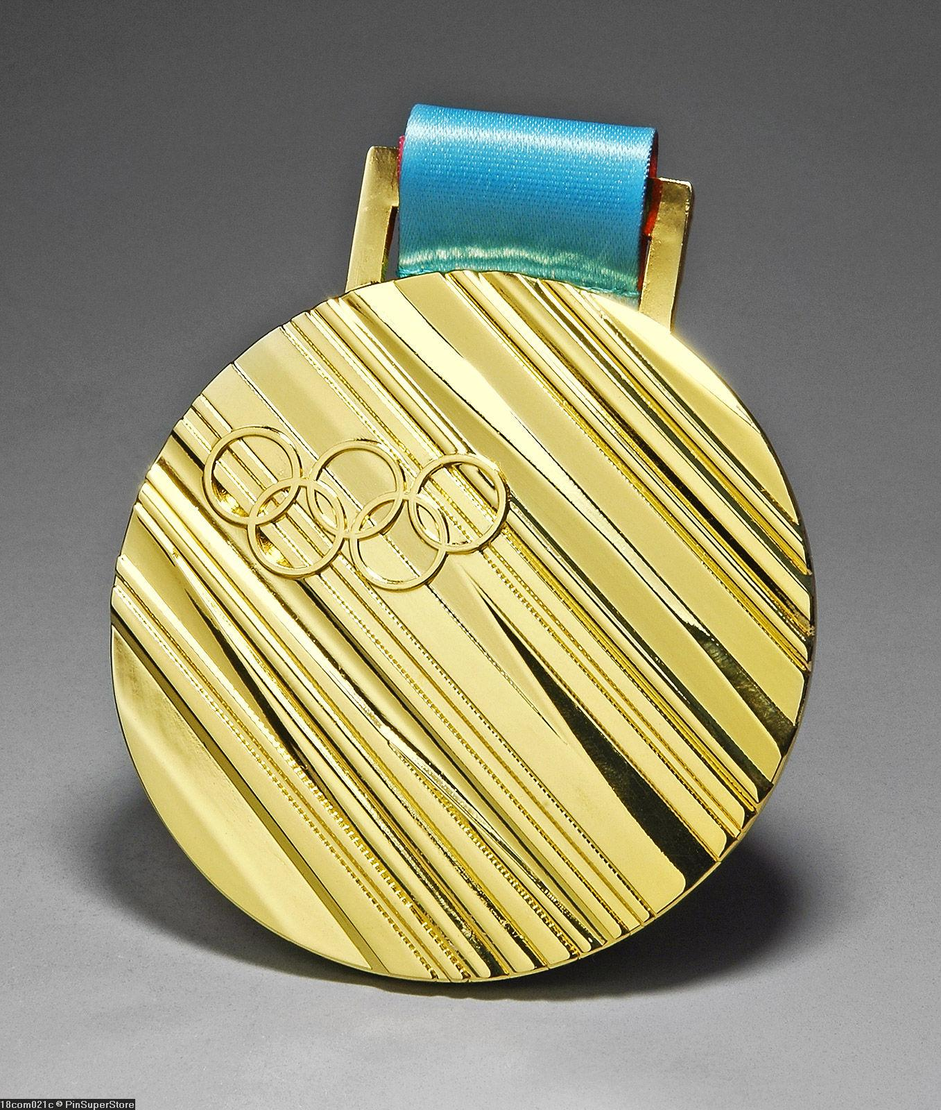 2018 PYEONGCHANG SOUTH KOREA OLYMPIC SOUVENIR REPLICA GOLD ...