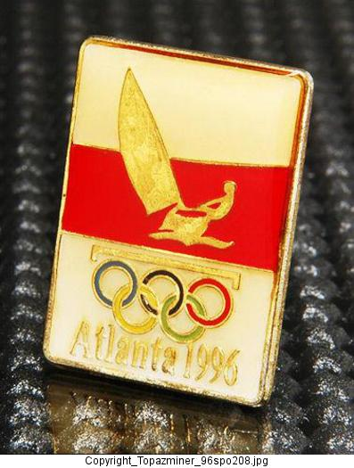Olympic Pins 1996 Atlanta Summer Games Sport Icons Atlanta 1996